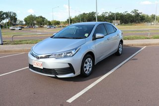 2017 Toyota Corolla ZRE172R Ascent S-CVT Silver Ash 7 Speed Automatic Sedan