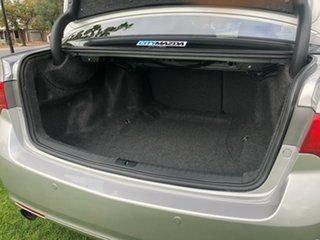 2011 Honda Accord Euro CU MY11 Luxury Silver 5 Speed Automatic Sedan