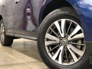 2017 Nissan Pathfinder R52 Series II MY17 ST X-tronic 2WD Blue 1 Speed Constant Variable Wagon