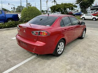 2013 Mitsubishi Lancer CJ MY13 ES Red 6 Speed Constant Variable Sedan