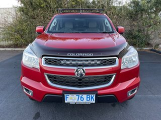 2016 Holden Colorado RG MY16 LT Crew Cab Red/4bc 6 Speed Manual Utility.