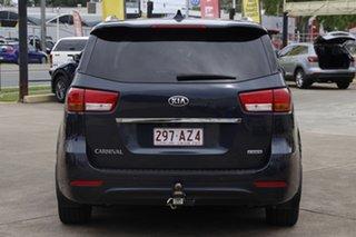 2015 Kia Carnival YP MY16 SLi Gravity Blue 6 Speed Sports Automatic Wagon