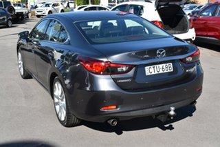 2014 Mazda 6 GJ1032 Atenza SKYACTIV-Drive Grey 6 Speed Sports Automatic Sedan.