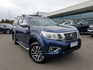 2016 Nissan Navara D23 ST-X 4x2 Blue 6 Speed Manual Utility.