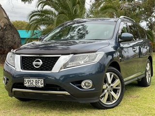 2015 Nissan Pathfinder R52 MY15 Ti X-tronic 2WD Blue 1 Speed Constant Variable Wagon.