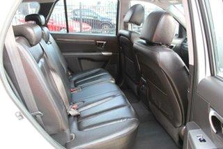 2010 Hyundai Santa Fe CM MY10 Highlander CRDi (4x4) White 6 Speed Automatic Wagon