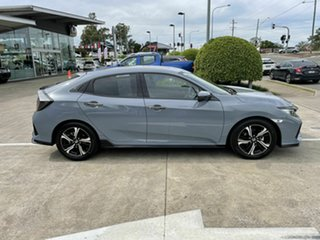 2018 Honda Civic 10th Gen MY18 RS Grey 1 Speed Constant Variable Hatchback.