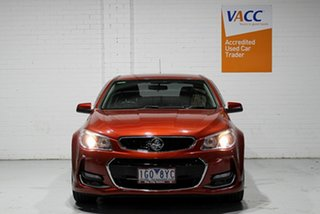 2015 Holden Commodore VF II MY16 SV6 Red 6 Speed Sports Automatic Sedan