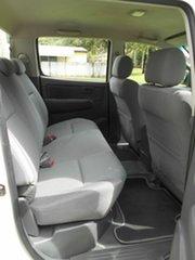 2011 Toyota Hilux KUN26R MY12 SR (4x4) White 5 Speed Manual Dual Cab Pick-up