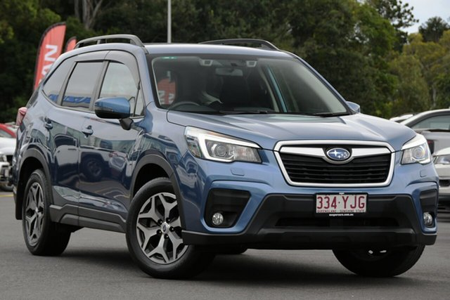 Used Subaru Forester S4 MY18 2.5i-L CVT AWD Aspley, 2018 Subaru Forester S4 MY18 2.5i-L CVT AWD Horizon Blue 6 Speed Constant Variable Wagon