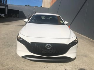 2021 Mazda 3 BP2HLA G25 SKYACTIV-Drive GT Snowflake White 6 Speed Sports Automatic Hatchback.