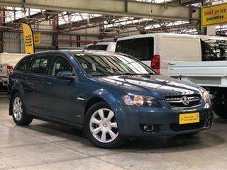 2009 Holden Berlina VE MY10 Sportwagon Blue 6 Speed Sports Automatic Wagon.