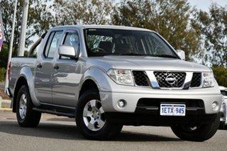 2015 Nissan Navara D40 S9 Silverline SE Silver 5 Speed Automatic Utility.