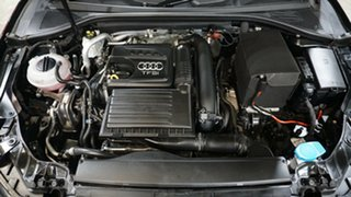2016 Audi A3 8V MY16 Attraction Sportback S Tronic Black 7 Speed Sports Automatic Dual Clutch