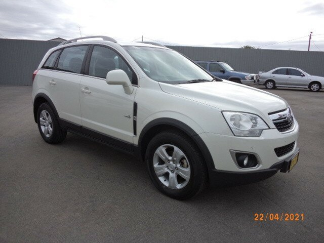 Used Holden Captiva CG Series II 5 (FWD) Wagga Wagga, 2011 Holden Captiva CG Series II 5 (FWD) 6 Speed Manual Wagon