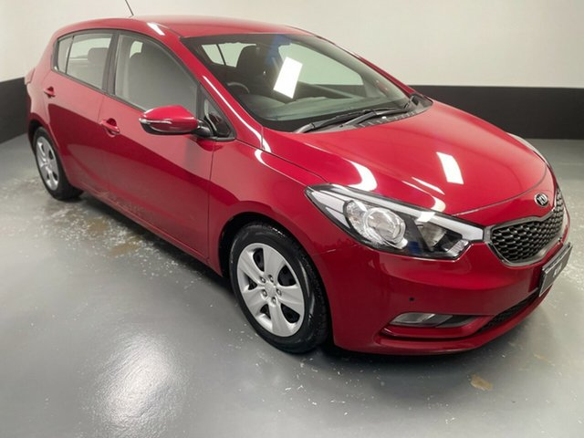 Used Kia Cerato YD MY16 S Rutherford, 2015 Kia Cerato YD MY16 S Red 6 Speed Sports Automatic Hatchback