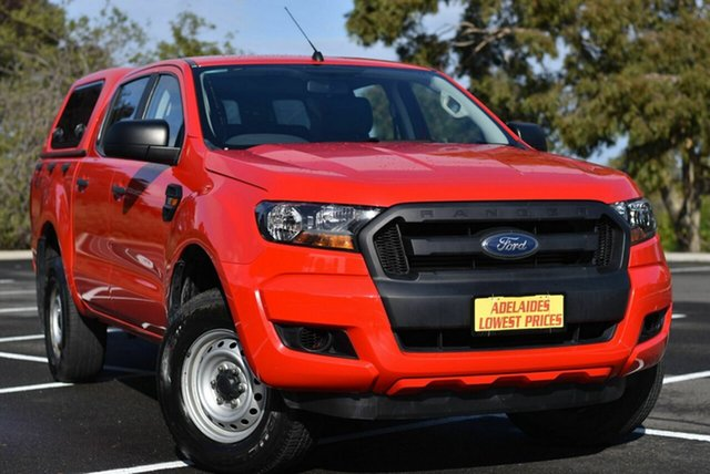 Used Ford Ranger PX MkII 2018.00MY XL Enfield, 2017 Ford Ranger PX MkII 2018.00MY XL Red 6 Speed Sports Automatic Utility