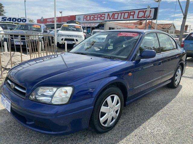 Used Subaru Liberty MY00 GX (AWD) Victoria Park, 2000 Subaru Liberty MY00 GX (AWD) Blue 4 Speed Automatic Wagon