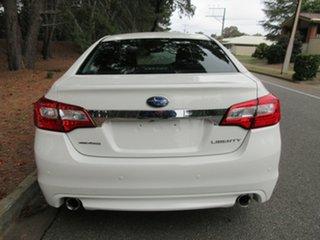 2015 Subaru Liberty B6 MY15 3.6R CVT AWD White 6 Speed Constant Variable Sedan