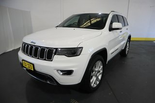2017 Jeep Grand Cherokee WK MY18 Limited White 8 Speed Sports Automatic Wagon