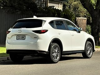 2018 Mazda CX-5 KF4WLA Touring SKYACTIV-Drive i-ACTIV AWD Pearl White 6 Speed Sports Automatic Wagon
