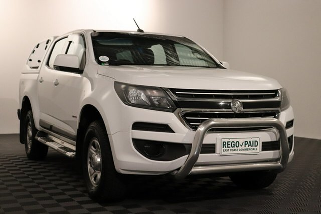 Used Holden Colorado RG MY16 LS Crew Cab Acacia Ridge, 2016 Holden Colorado RG MY16 LS Crew Cab Summit White 6 speed Manual Utility