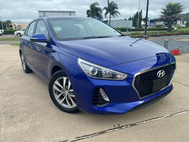 Used Hyundai i30 PD2 MY19 Active Townsville, 2019 Hyundai i30 PD2 MY19 Active Blue/300419 6 Speed Sports Automatic Hatchback