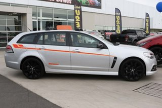 2015 Holden Commodore VF MY15 SS V Sportwagon Sandman Silver 6 Speed Sports Automatic Wagon.