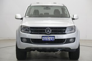 2016 Volkswagen Amarok 2H MY16 TDI420 4Motion Perm Highline Silver 8 Speed Automatic Utility.