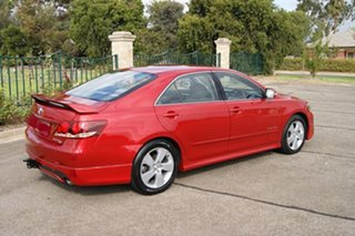 2007 Toyota Aurion GSV40R Sportivo SX6 Red 6 Speed Auto Sequential Sedan