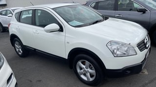 2008 Nissan Dualis J10 ST AWD White 6 Speed Manual Hatchback.