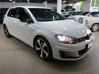 2017 Volkswagen Golf VII MY17 GTI DSG White 6 Speed Sports Automatic Dual Clutch Hatchback.