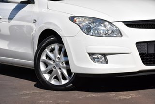 2010 Hyundai i30 FD MY10 SLX White 4 Speed Automatic Hatchback