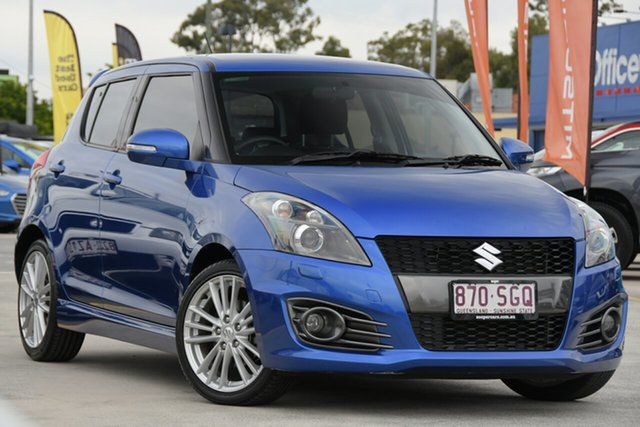 Used Suzuki Swift FZ Sport Aspley, 2012 Suzuki Swift FZ Sport Blue 7 Speed Constant Variable Hatchback