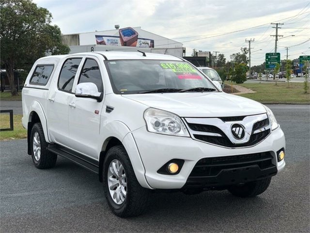 Used Foton Tunland P201 Archerfield, 2016 Foton Tunland P201 White 5 Speed Manual Utility