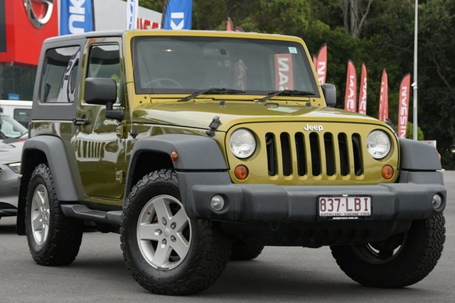 Used Jeep Wrangler JK Sport Aspley, 2008 Jeep Wrangler JK Sport Yellow 4 Speed Automatic Softtop