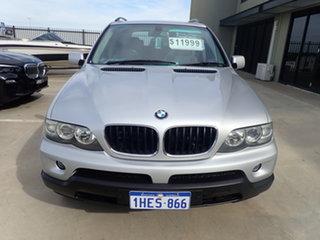 2004 BMW X5 E53 3.0D Adventurine Silver 6 Speed Automatic Wagon.