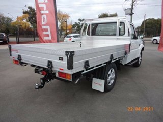 2021 Mahindra Pik-Up MY20 4WD S6+ Arctic White 6 Speed Manual Cab Chassis