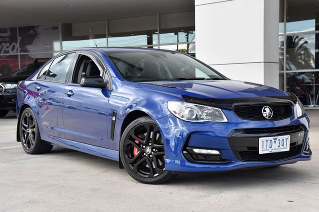 Used Holden Commodore VF II MY17 SS V Redline Oakleigh, 2017 Holden Commodore VF II MY17 SS V Redline Blue 6 Speed Sports Automatic Sedan