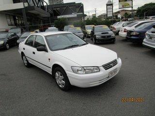 2001 Toyota Camry MCV20R (ii) CSi White 4 Speed Automatic Sedan.