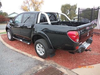 2012 Mitsubishi Triton MN MY12 GL-R (4x4) Black 5 Speed Manual Double Cab Utility