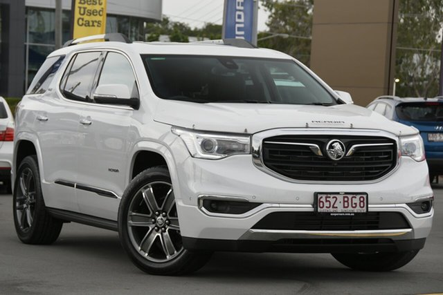 Used Holden Acadia AC MY19 LTZ-V AWD Aspley, 2019 Holden Acadia AC MY19 LTZ-V AWD White 9 Speed Sports Automatic Wagon