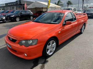 2004 Ford Falcon BA MkII XR6 Orange 4 Speed Auto Seq Sportshift Utility.