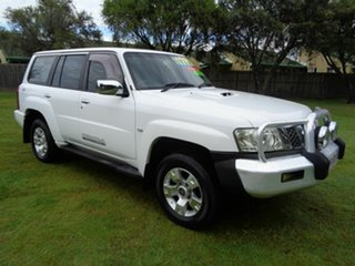 2007 Nissan Patrol GU IV MY06 ST White 4 Speed Automatic Wagon