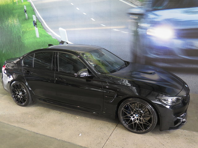 Used BMW M3 F80 MY18 Competition Osborne Park, 2018 BMW M3 F80 MY18 Competition Black 7 Speed Auto Dual Clutch Sedan
