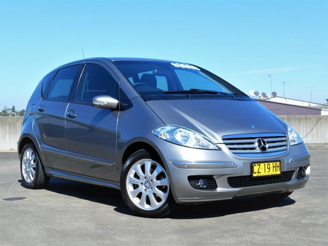 Used Mercedes-Benz A-Class W169 MY07 A200 Elegance Brookvale, 2007 Mercedes-Benz A-Class W169 MY07 A200 Elegance Gold 7 Speed Constant Variable Hatchback