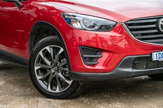 2015 Mazda CX-5 KE1022 Grand Touring SKYACTIV-Drive AWD Soul Red 6 Speed Sports Automatic Wagon.