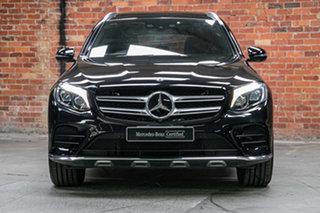 2017 Mercedes-Benz GLC-Class X253 807MY GLC250 9G-Tronic 4MATIC Obsidian Black 9 Speed.