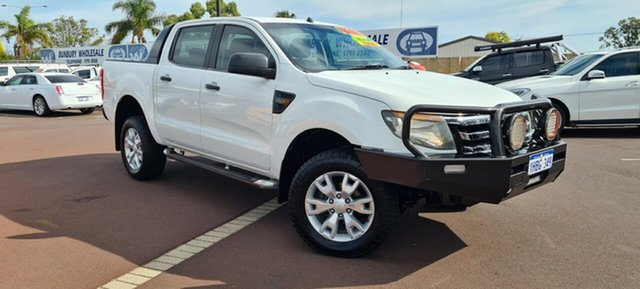 Used Ford Ranger PX XL East Bunbury, 2012 Ford Ranger PX XL White 6 Speed Sports Automatic Utility