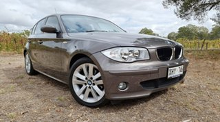 2005 BMW 120i E87 120i Brown 6 Speed Automatic Hatchback.